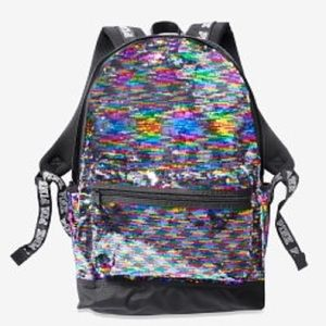 PINK VS Bling Campus Backpack